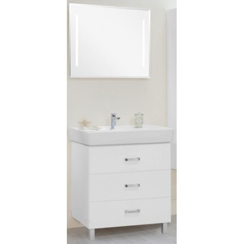 Мебель для ванной Акватон Америна 80 М напольная белая