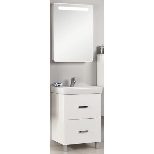 Мебель для ванной Акватон Америна 80 Н напольная белая правая