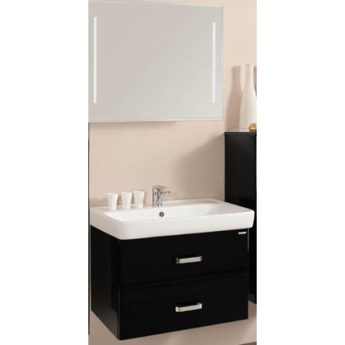 Мебель для ванной Акватон Америна 80 подвесная черная