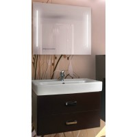 Мебель для ванной Акватон Америна 80 подвесная темно-коричневая