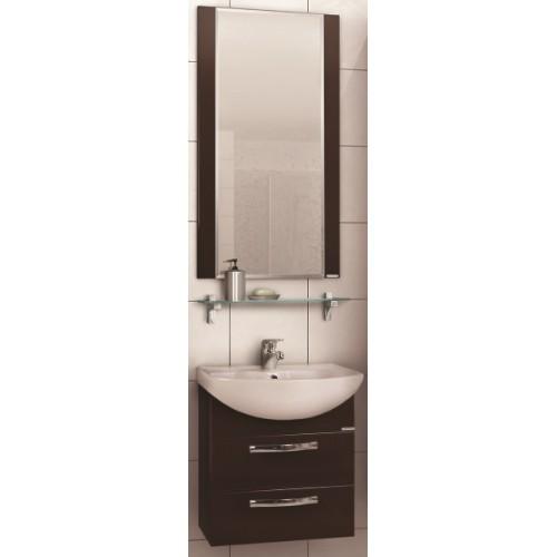 Мебель для ванной Акватон Ария 50 М подвесная темно-коричневая