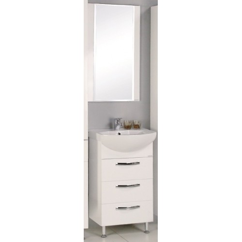 Мебель для ванной Акватон Ария 50 Н напольная белая