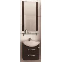 Мебель для ванной Акватон Ария 65 М подвесная темно-коричневая