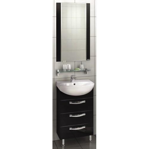 Мебель для ванной Акватон Ария 65 Н напольная черная