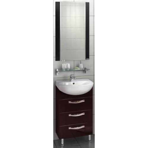 Мебель для ванной Акватон Ария 65 Н напольная темно-коричневая