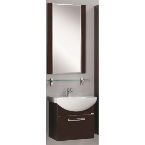 Мебель для ванной Акватон Ария 65 подвесная темно-коричневая