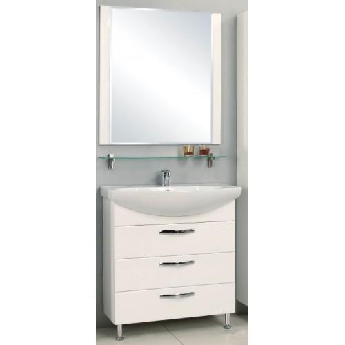 Мебель для ванной Акватон Ария 80 М подвесная белая
