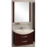 Мебель для ванной Акватон Ария 80 М подвесная темно-коричневая