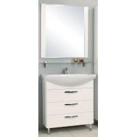 Мебель для ванной Акватон Ария 80 Н напольная белая