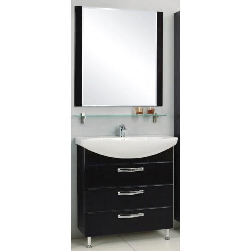 Мебель для ванной Акватон Ария 80 Н напольная черная