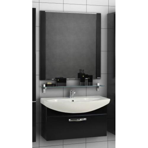 Мебель для ванной Акватон Ария 80 подвесная черная