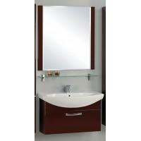 Мебель для ванной Акватон Ария 80 подвесная темно-коричневая
