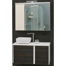 Мебель для ванной Акватон Брук 100 (60+40) подвесная дуб феррара