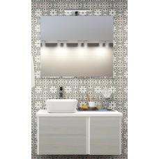 Мебель для ванной Акватон Брук 100 (60+40) подвесная дуб латте
