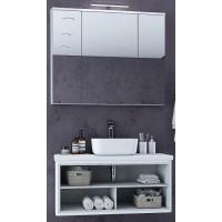 Мебель для ванной Акватон Брук 100 подвесная открытая дуб латте
