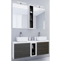 Мебель для ванной Акватон Брук 140 подвесная дуб феррара