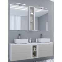 Мебель для ванной Акватон Брук 140 подвесная дуб латте