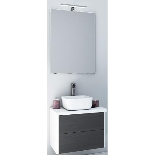 Мебель для ванной Акватон Брук 60 подвесная дуб феррара