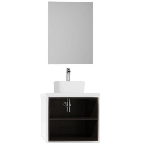 Мебель для ванной Акватон Брук 60 подвесная открытая дуб феррара