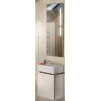 Мебель для ванной Акватон Эклипс М 45 подвесная левая эбони светлая