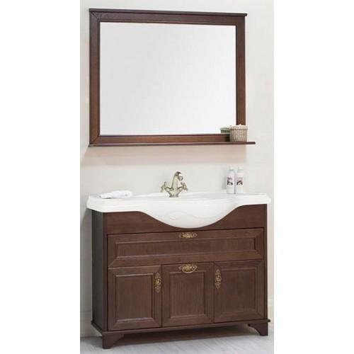Мебель для ванной Акватон Идель 105 напольная дуб шоколадный
