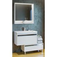 Мебель для ванной Акватон Капри 60 подвесная белый глянец