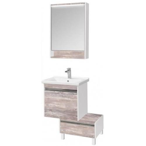 Мебель для ванной Акватон Капри 60 подвесная бетон пайн