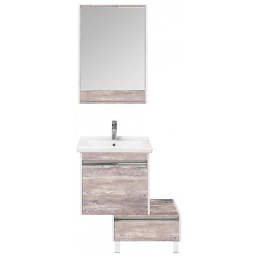 Мебель для ванной Акватон Капри 80 подвесная бетон пайн