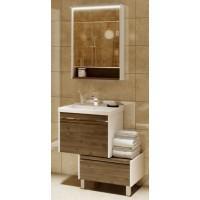 Мебель для ванной Акватон Капри 80 подвесная таксония темная
