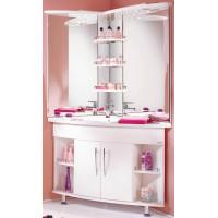 Мебель для ванной Акватон Лас-Вегас 100 напольная левая