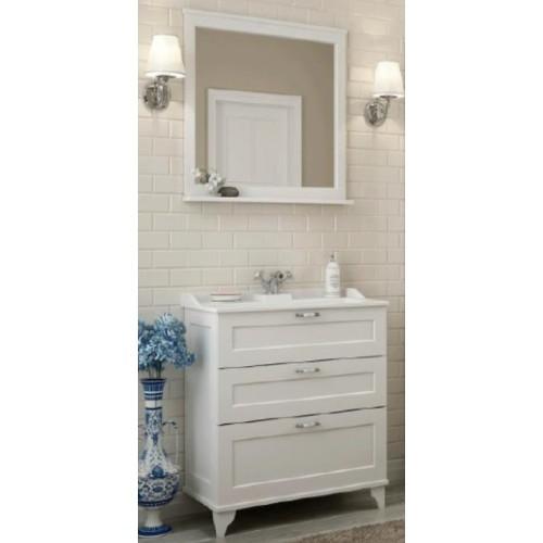 Мебель для ванной Акватон Леон 65 напольная дуб белый