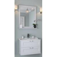 Мебель для ванной Акватон Леон 65 подвесная дуб белый