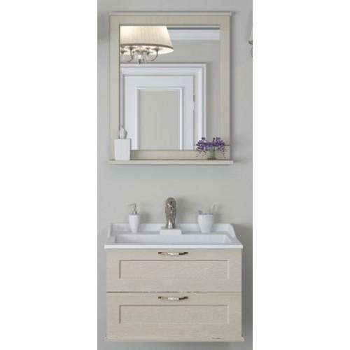 Мебель для ванной Акватон Леон 65 подвесная дуб бежевый