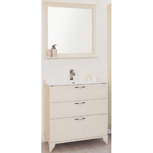 Мебель для ванной Акватон Леон 80 напольная дуб бежевый