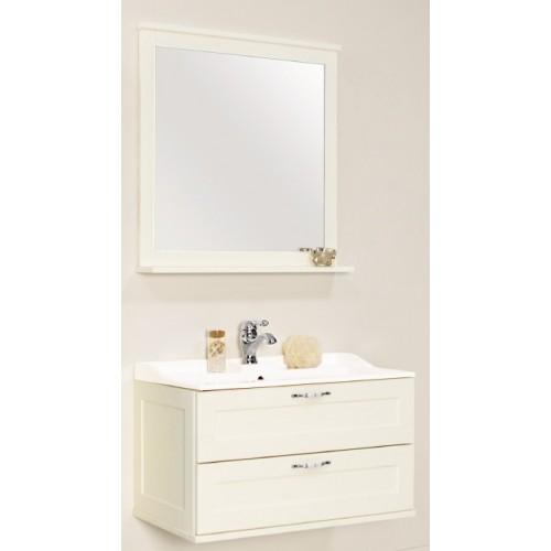 Мебель для ванной Акватон Леон 80 подвесная дуб белый