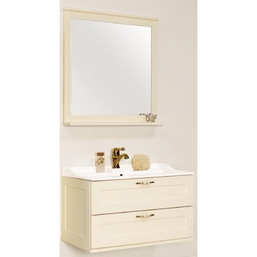 Мебель для ванной Акватон Леон 80 подвесная дуб бежевый