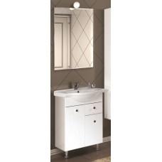 Мебель для ванной Акватон Лиана 65 М напольная с бельевой корзиной