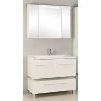 Мебель для ванной Акватон Мадрид 100 подвесная с 2 ящиками