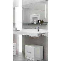 Мебель для ванной Акватон Отель 100 подвесная правая