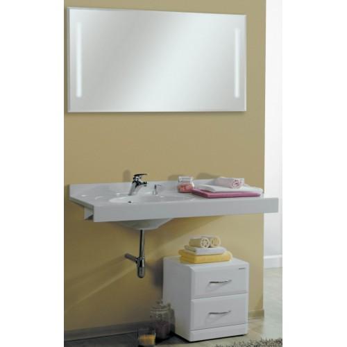 Мебель для ванной Акватон Отель 120 подвесная левая