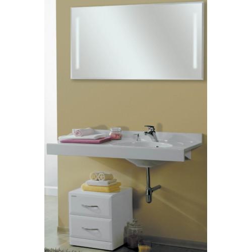 Мебель для ванной Акватон Отель 120 подвесная правая