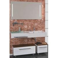 Мебель для ванной Акватон Отель 127 подвесная правая