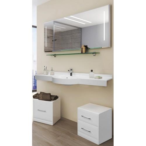 Мебель для ванной Акватон Отель 150 подвесная с полкой