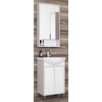 Мебель для ванной Акватон Рико 50 напольная с зеркальным шкафом