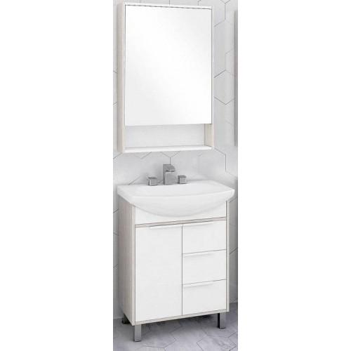 Мебель для ванной Акватон Рико 65 напольная с зеркальным шкафом