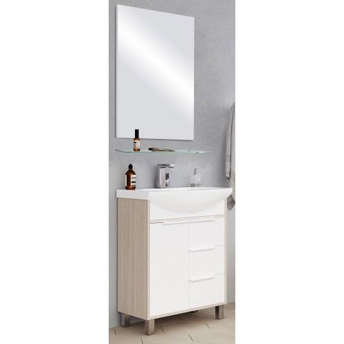 Мебель для ванной Акватон Рико 65 напольная с зеркалом