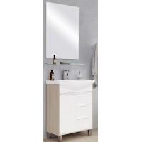 Мебель для ванной Акватон Рико 85 напольная с зеркалом