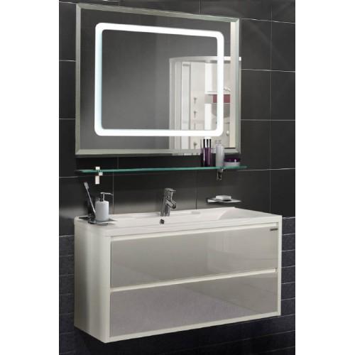 Мебель для ванной Акватон Римини 100 подвесная белая