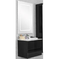 Мебель для ванной Акватон Римини 61 подвесная черная глянцевая