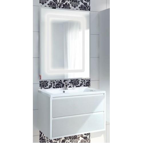 Мебель для ванной Акватон Римини 80 подвесная белая